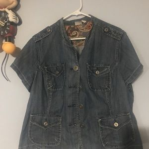 Lane Bryant Jean Over Jacket 18/20